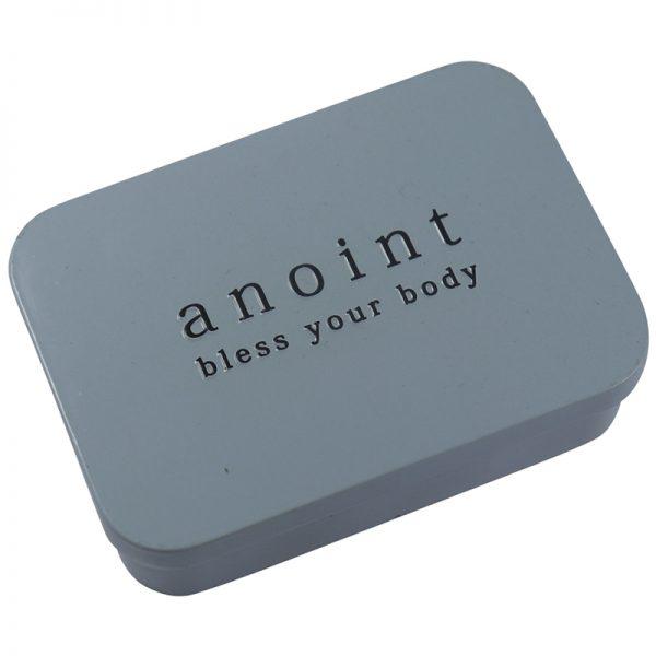 Lotion Bar Storage Tin | Anoint Skincare