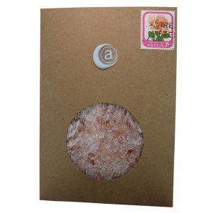 Pink Bath Salt Envelopes | Anoint Skincare