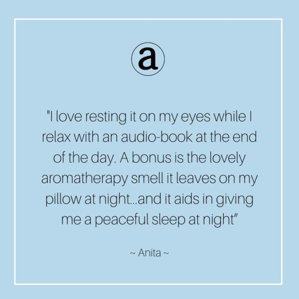 Anoint Aromatherapy Eye Pillow | Facial
