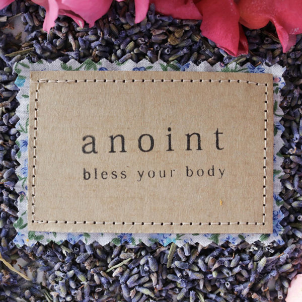 Anoint Label   Gift Wrapping
