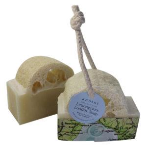 Anoint Lemongrass Loofah Soap | Soap