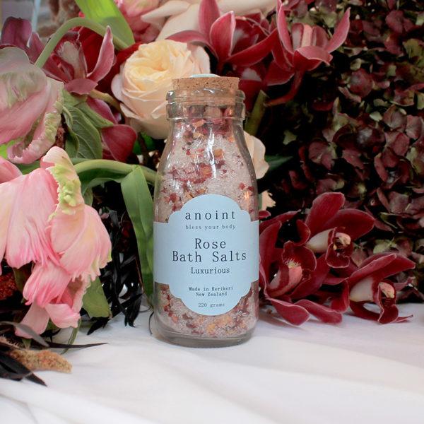 Anoint Rose Bath Salts | Bath