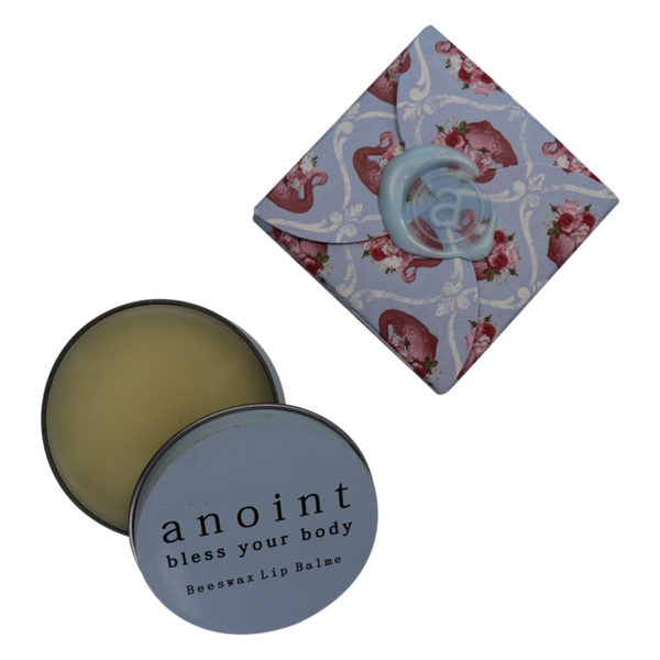 Anoint Beeswax Lip Balme | Floral Swan
